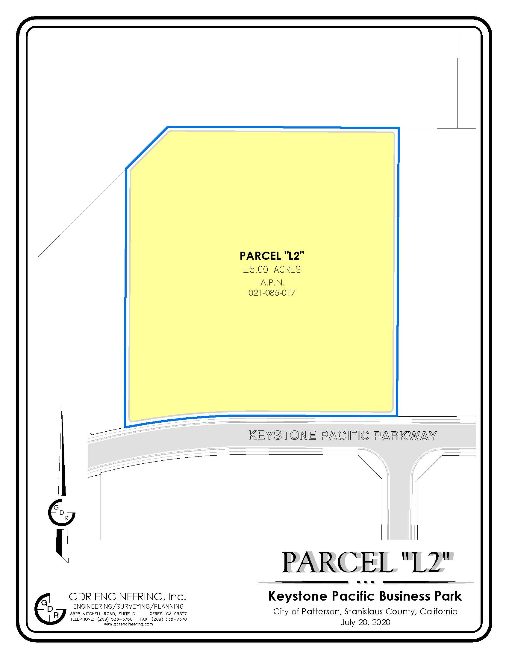 Keystone Pacific Business Park 5 Acre Site Parcel 021-085-017